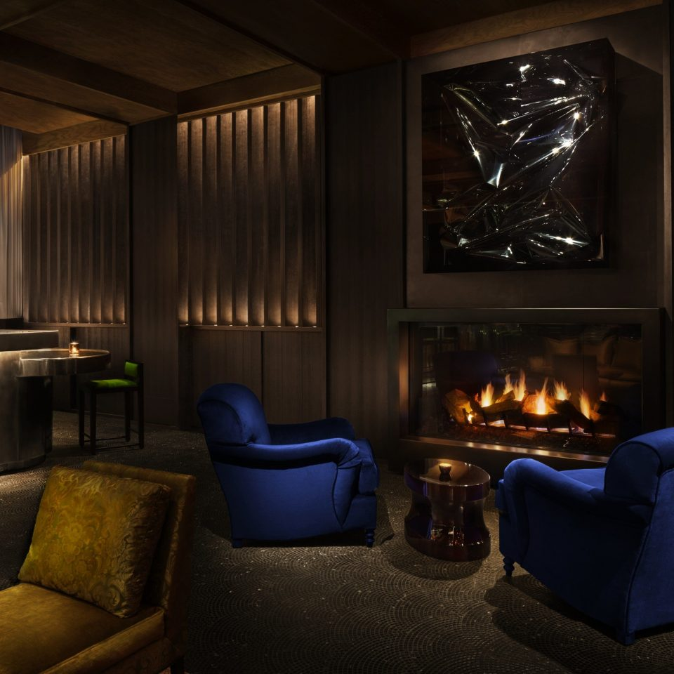 living room lighting home Lobby Suite Fireplace