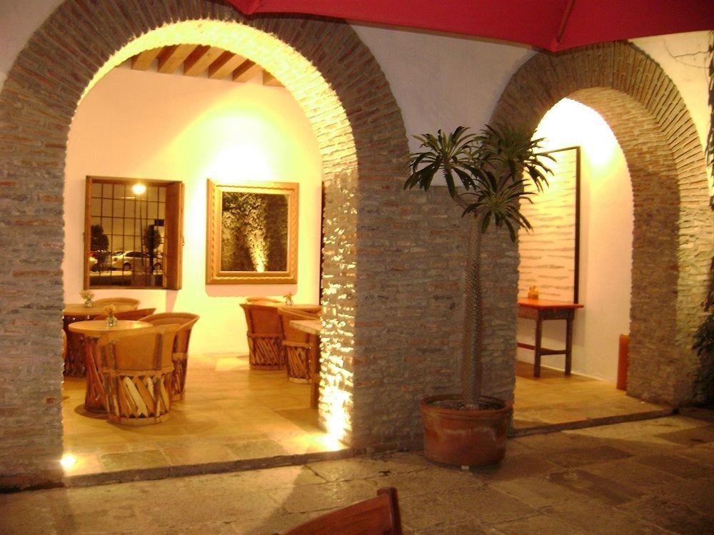 property hacienda Villa arch Fireplace Lobby mansion cottage stone