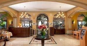 Lobby property building mansion living room home Fireplace Villa hacienda