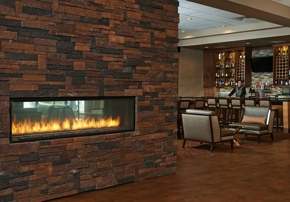 Lounge Luxury Modern Fireplace fire brick building stone hearth Nature hardwood living room wood flooring