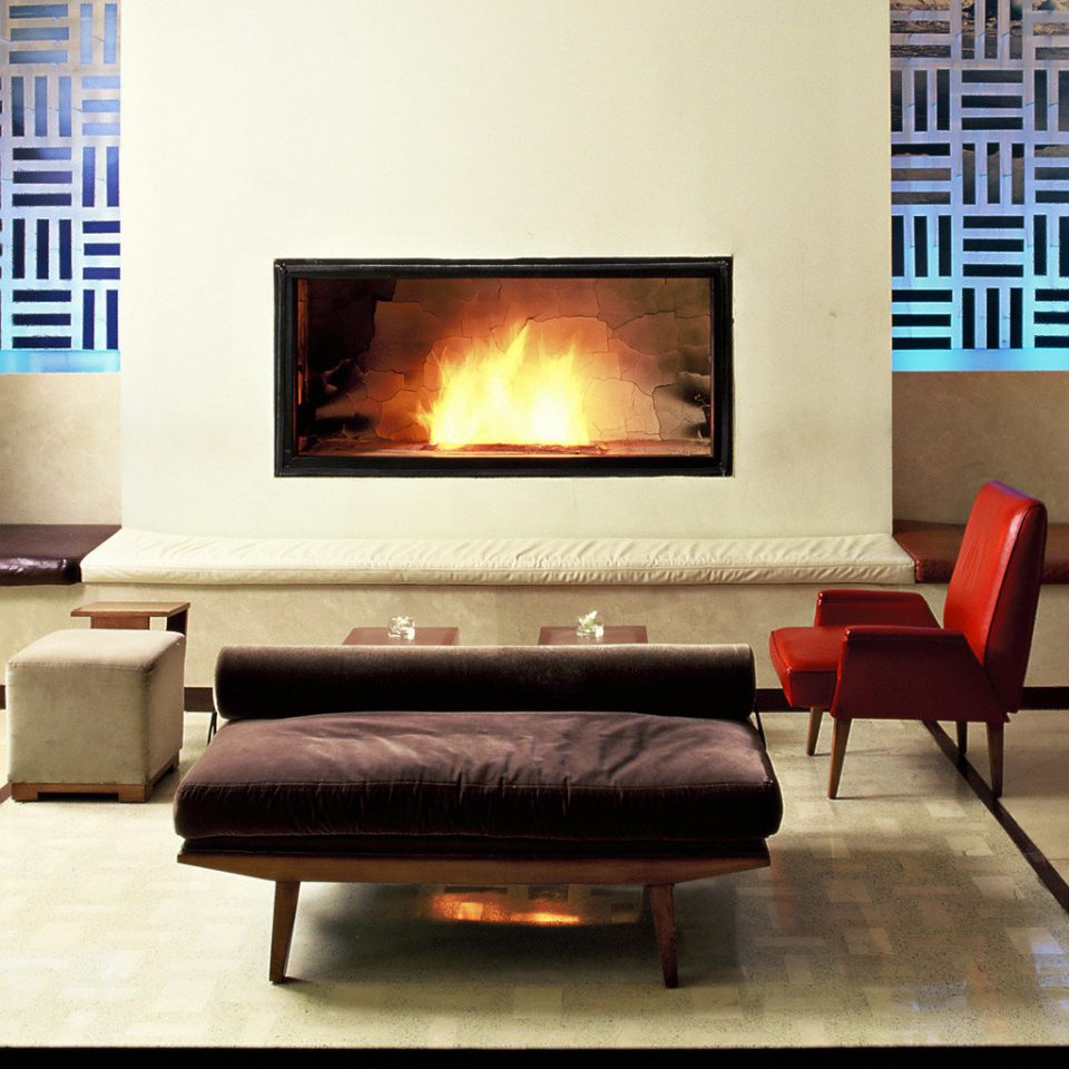 Fireplace Lounge Modern hearth living room couch