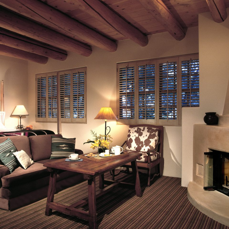 Fireplace Lounge Modern Rustic Trip Ideas Weekend Getaways Winter living room property home house cottage recreation room condominium Villa mansion loft