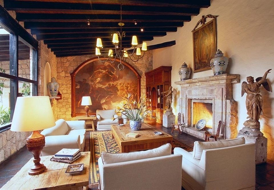Fireplace Lounge Romance property living room home Villa mansion cottage hacienda