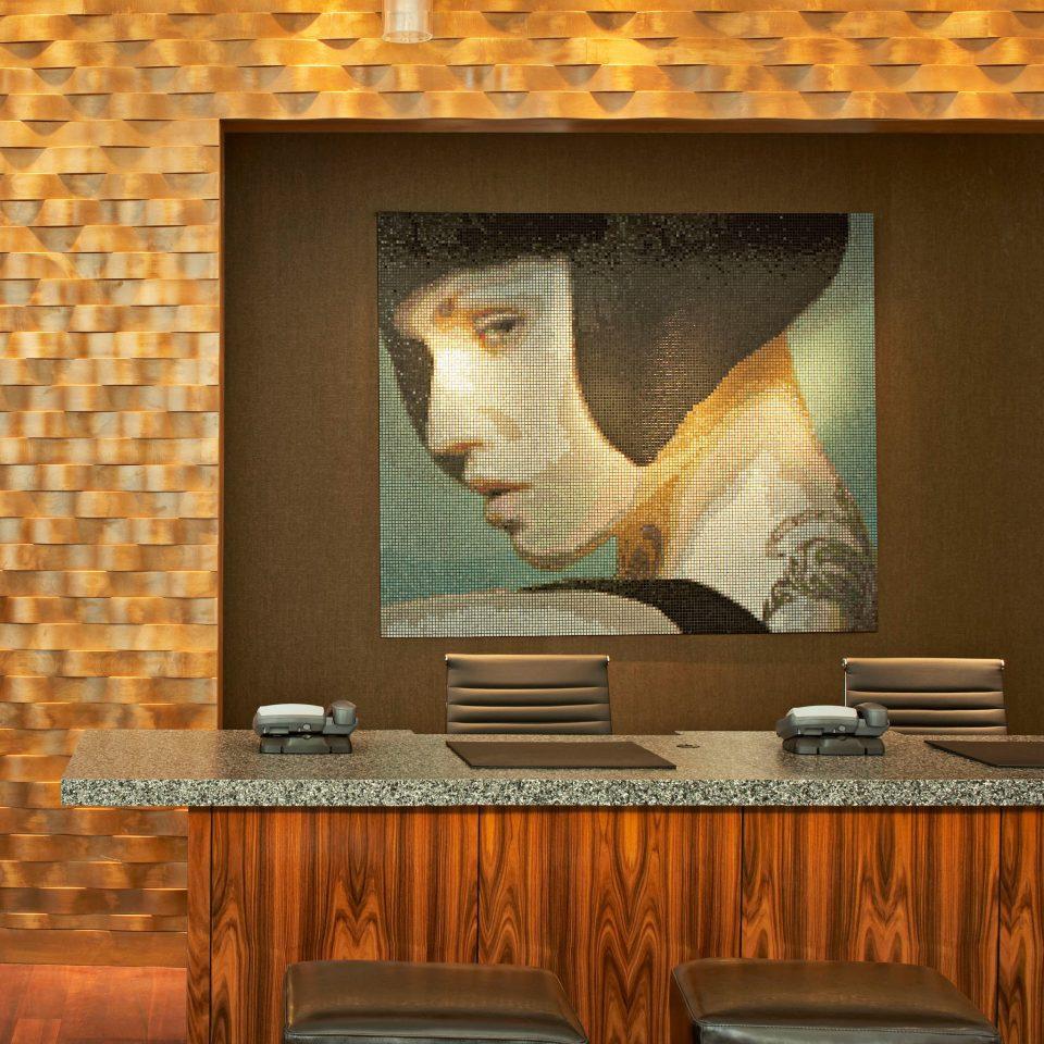 Lounge Scenic views modern art living room lighting flooring wallpaper set Fireplace