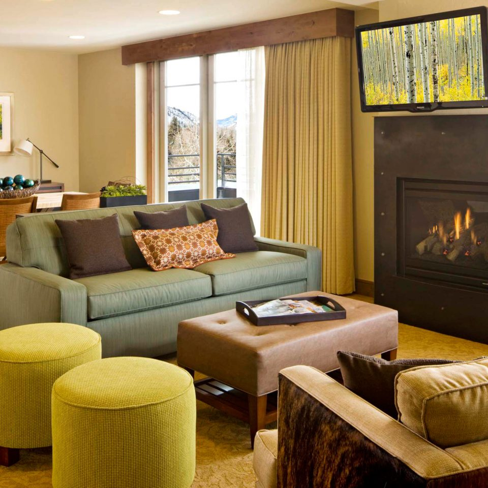Fireplace Modern Scenic views sofa living room property home Suite condominium hardwood cottage Villa