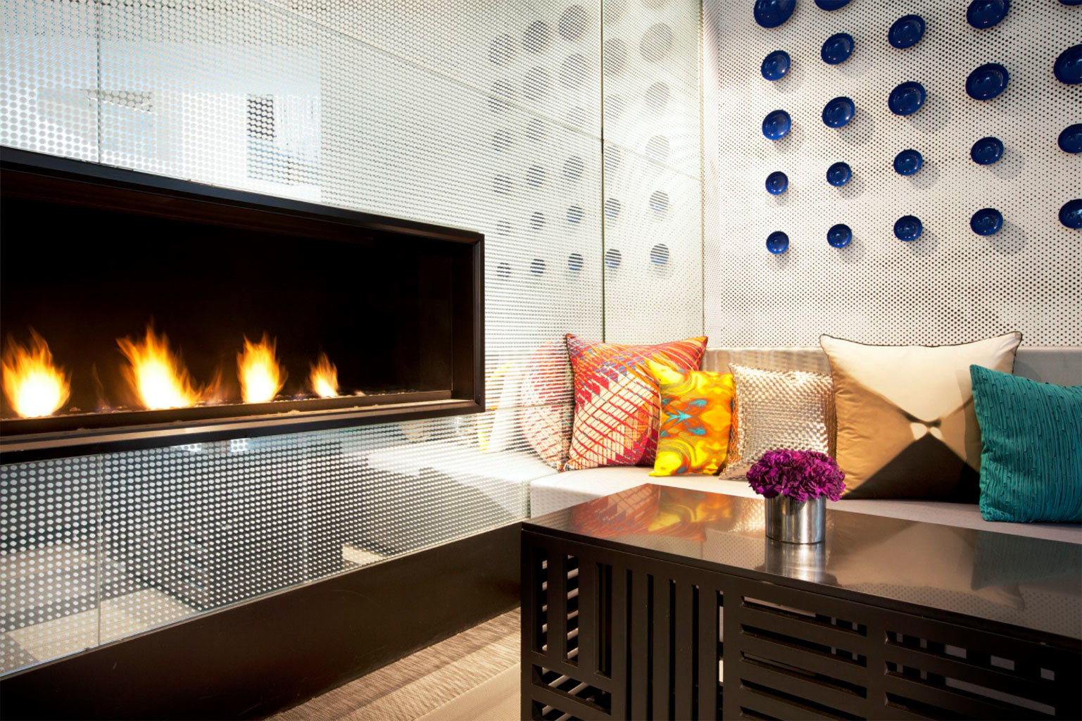 building Nature living room Fireplace