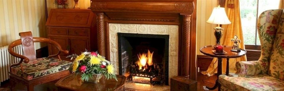 Fireplace fire Nature property stone cottage home living room