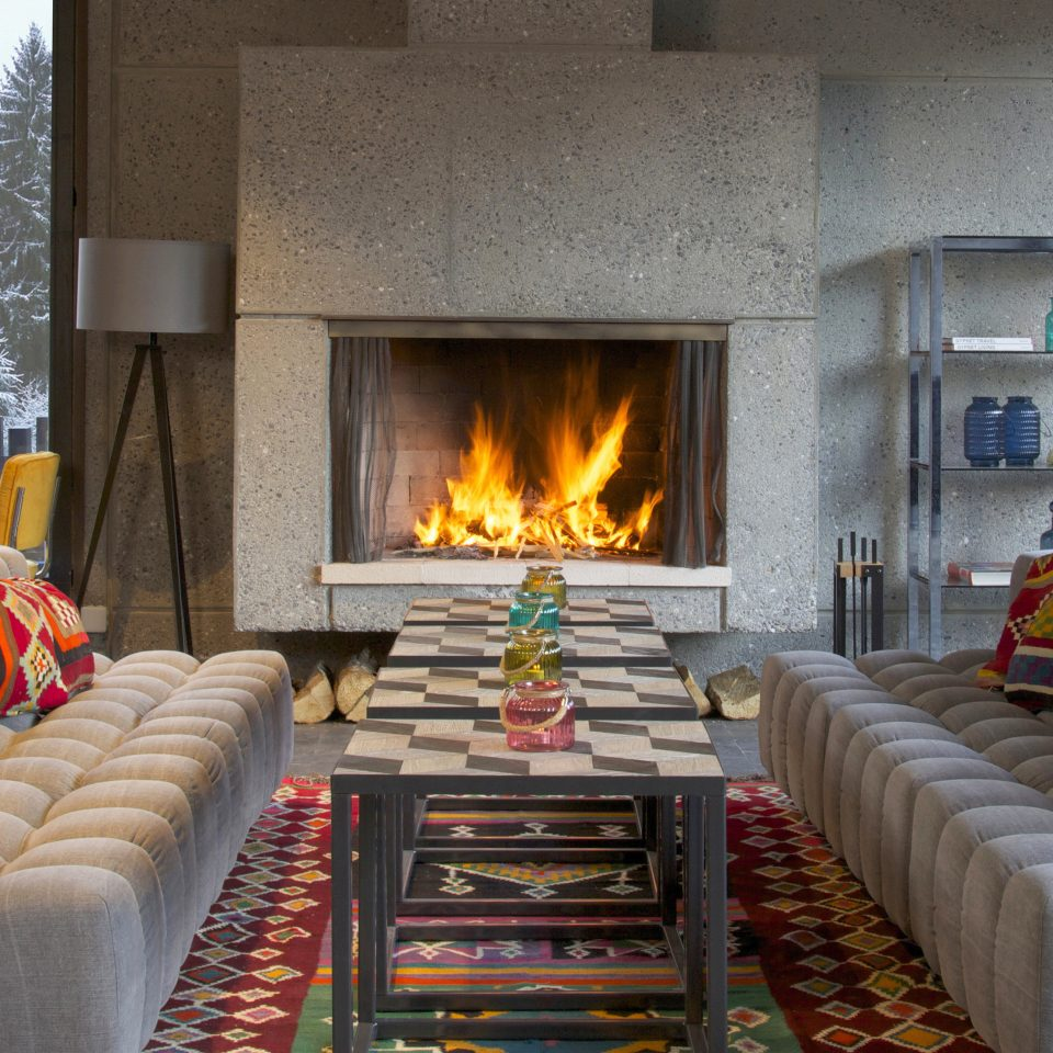 sofa Fireplace living room Nature home hearth cottage stone