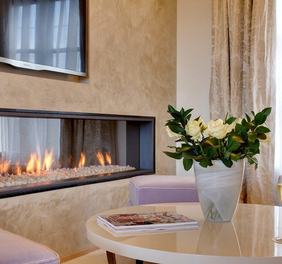hearth living room Fireplace home Suite interior designer