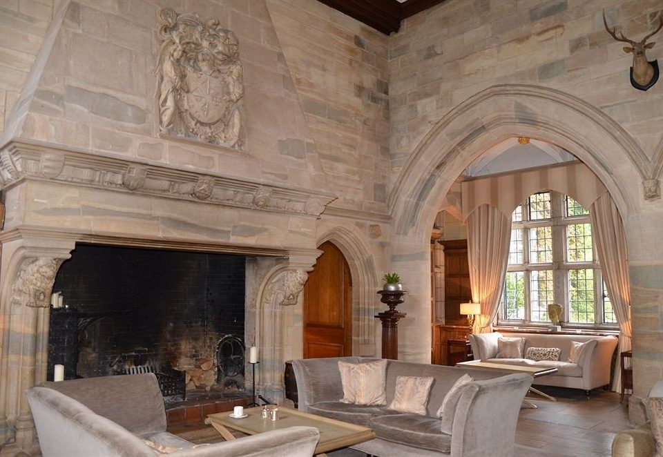 Fireplace stone property fire living room building mansion home hearth palace Villa