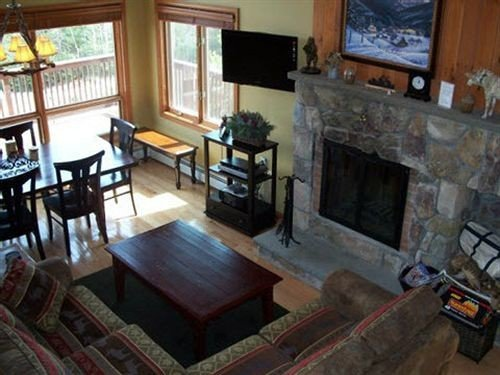 Fireplace property cottage living room home Villa mansion