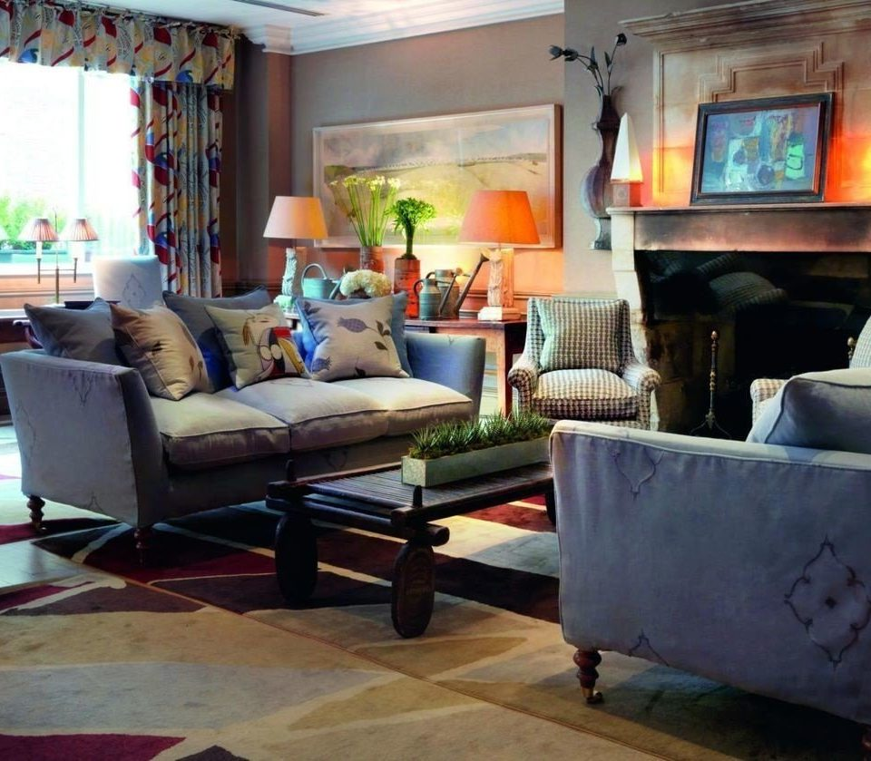 sofa living room property Fireplace home cottage Villa