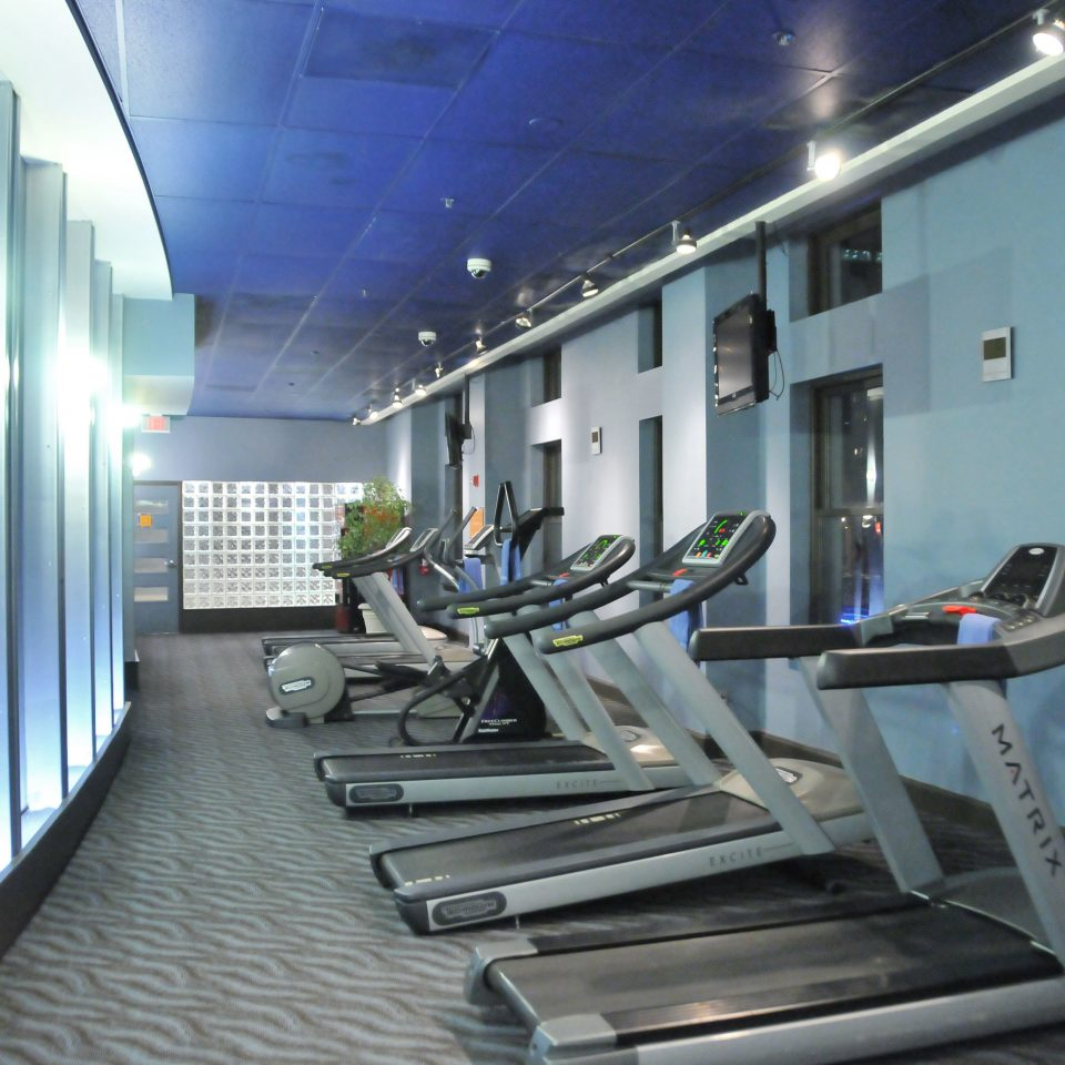 Fitness structure sport venue condominium gym screenshot