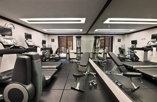 Fitness structure gym sport venue condominium