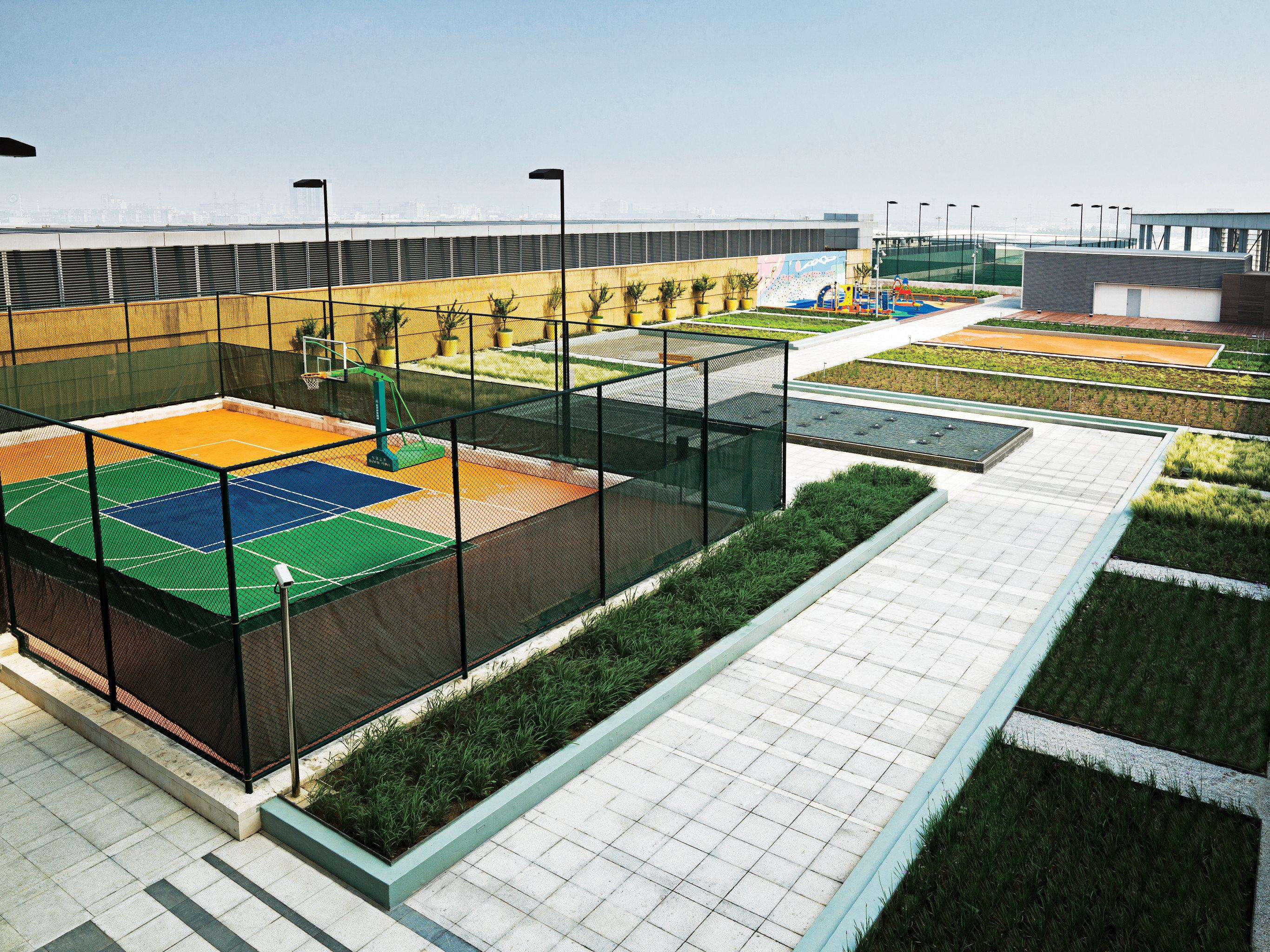 Fitness Grounds Sport Wellness sky green structure swimming pool sport venue leisure centre baseball field soccer specific stadium stadium arena