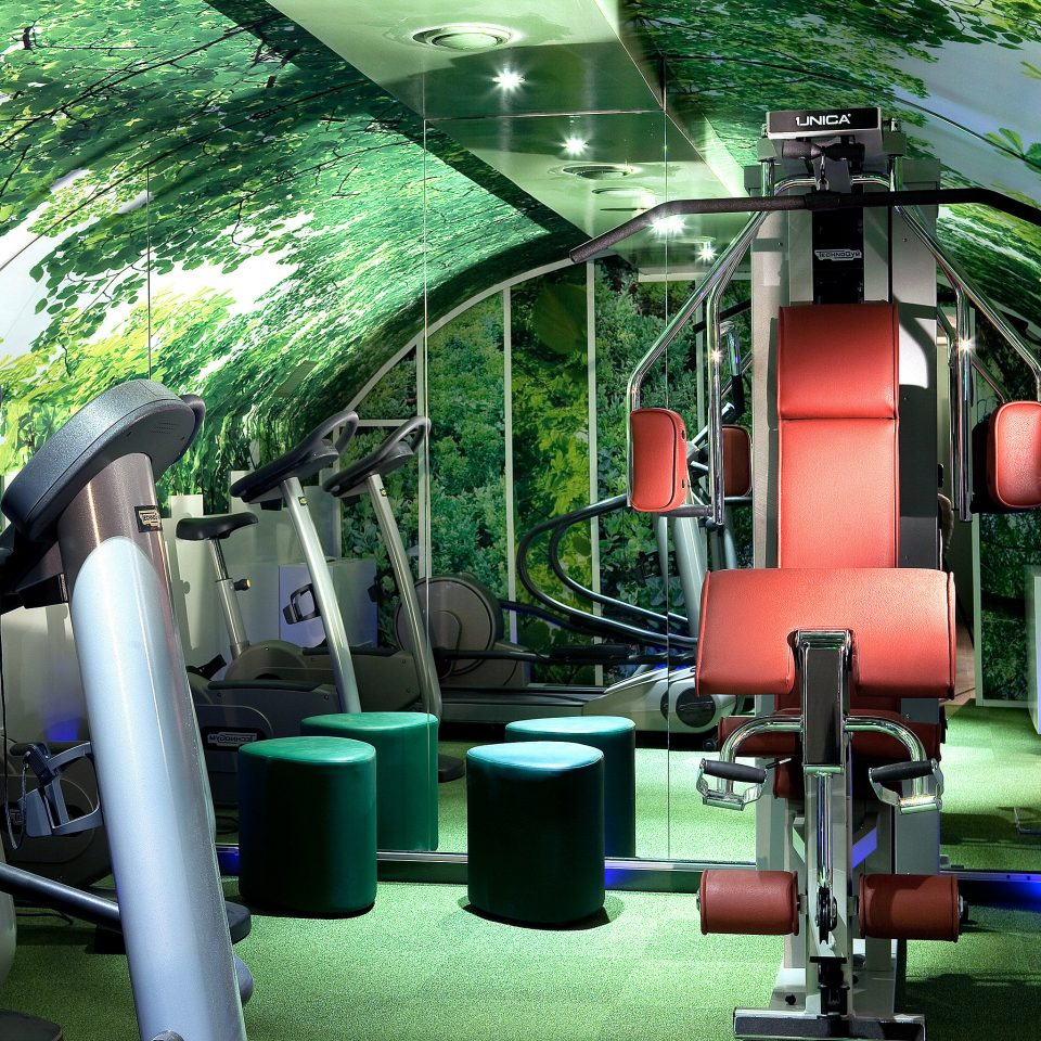 Fitness Hip Sport Wellness transport structure green sport venue vehicle screenshot public transport