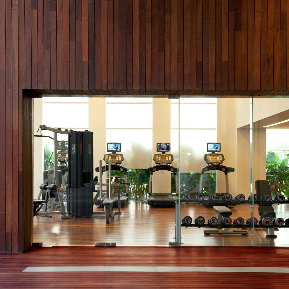 Fitness Sport Wellness wooden property building hardwood home Lobby living room lighting wood flooring hall hard