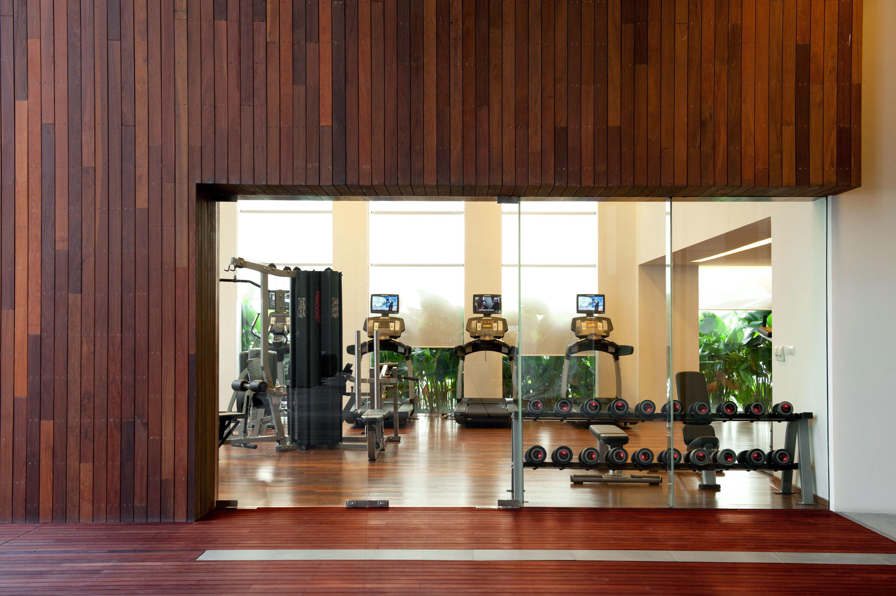 Fitness Sport Wellness wooden property building hardwood home Lobby living room lighting wood flooring hall hard