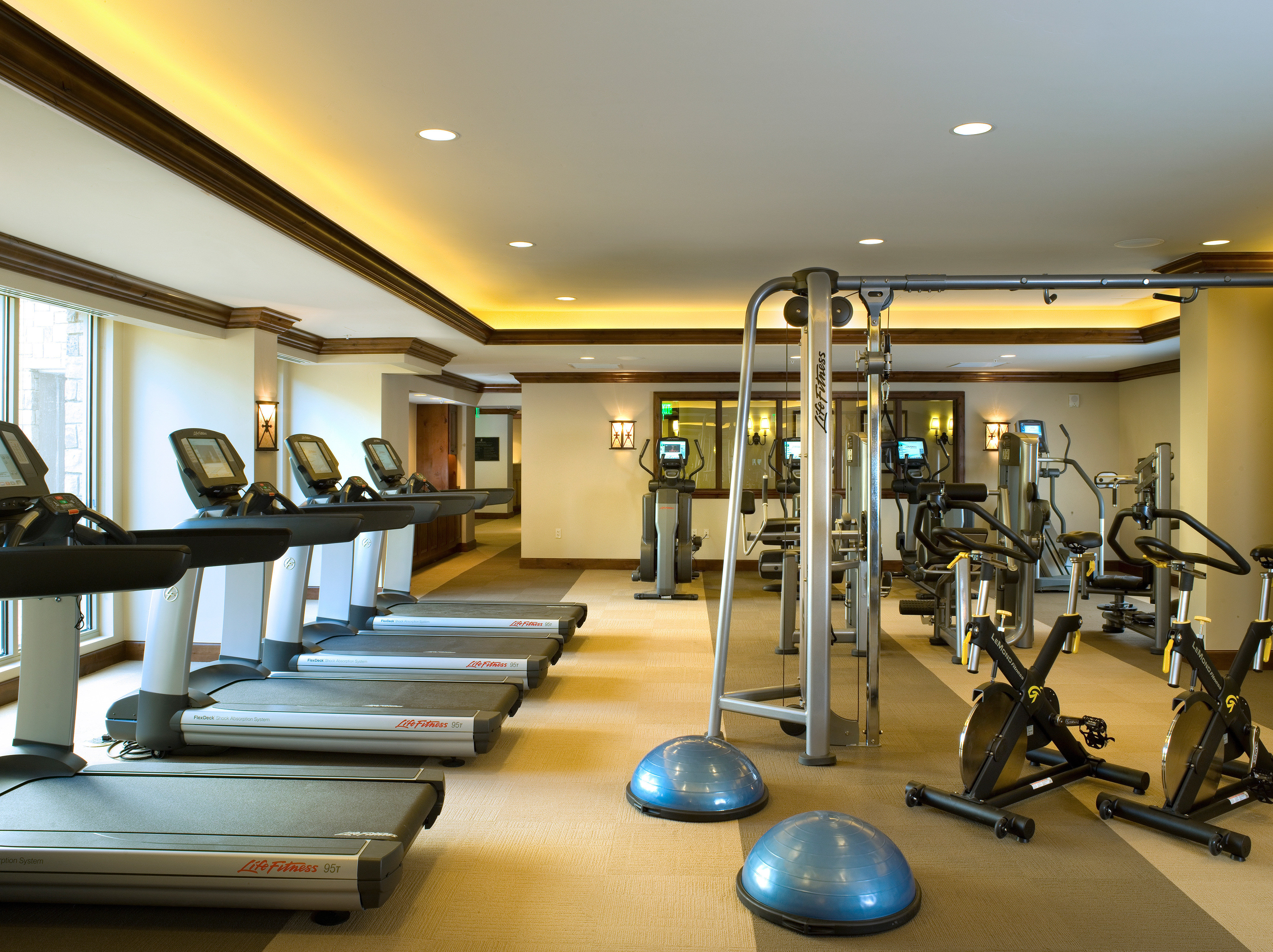Fitness Modern Resort Sport Wellness structure gym sport venue condominium