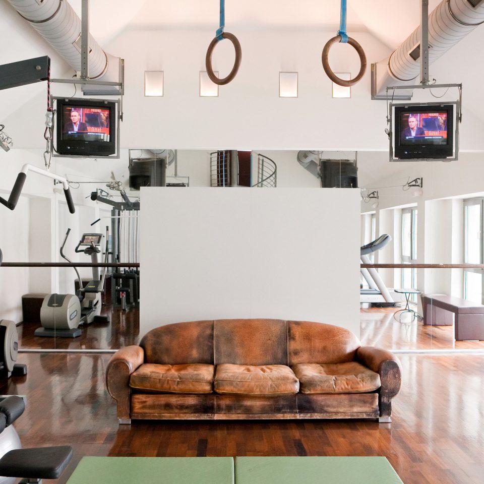 Fitness Modern Sport Wellness living room property home loft condominium