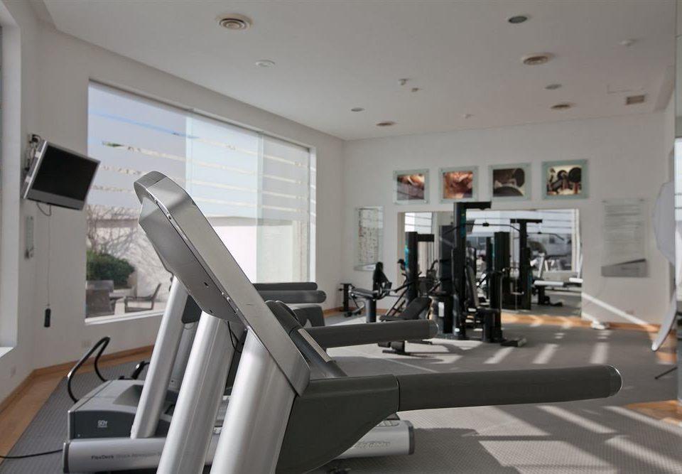 Fitness Modern Tropical structure property condominium sport venue living room loft