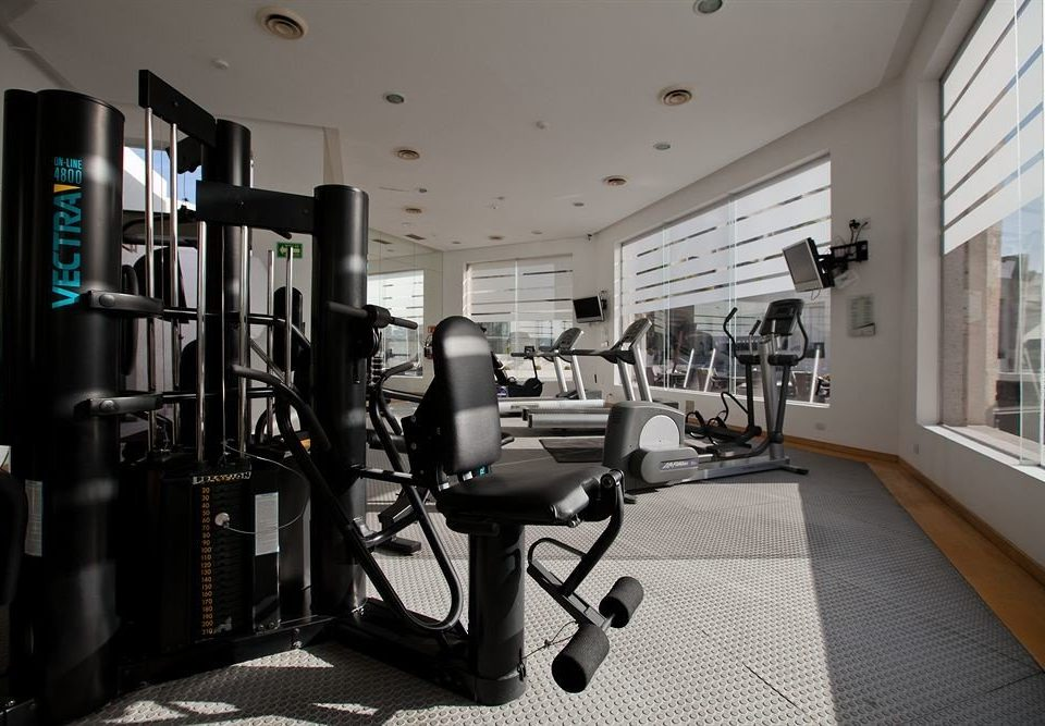 Fitness Modern Tropical structure property sport venue gym condominium