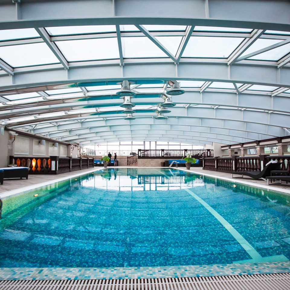 Fitness Play Pool Resort swimming pool structure leisure sport venue leisure centre blue swimming convention center arena net