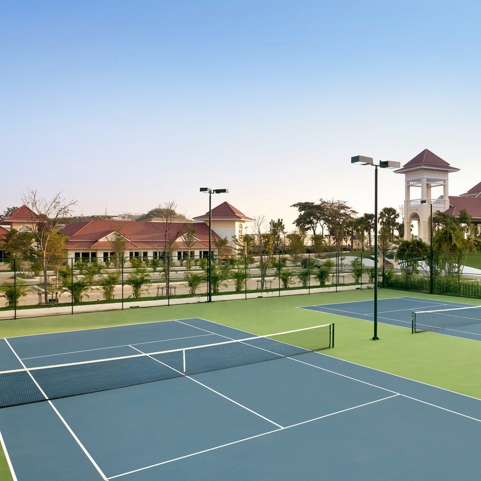 Fitness Resort Scenic views Sport Wellness athletic game sky tennis structure sports sport venue ball game leisure tennis court racquet sport