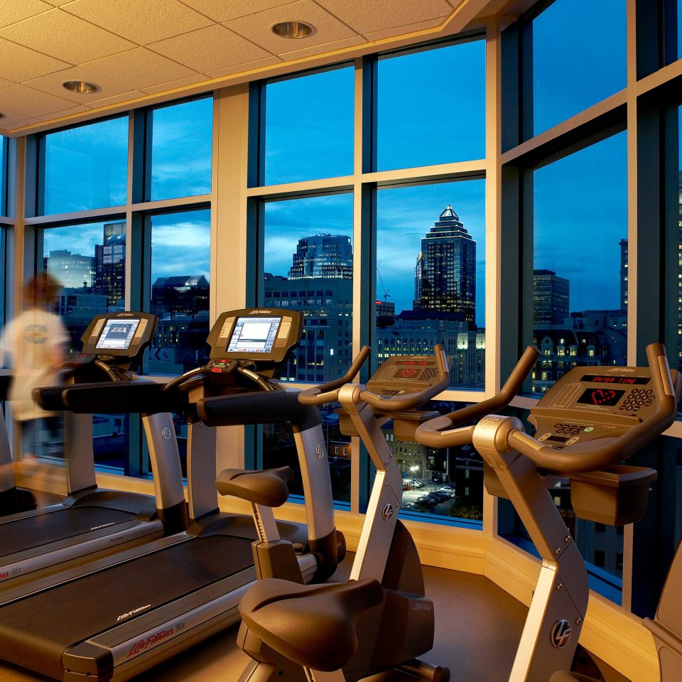 Fitness Scenic views Wellness chair structure sport venue recreation room overlooking