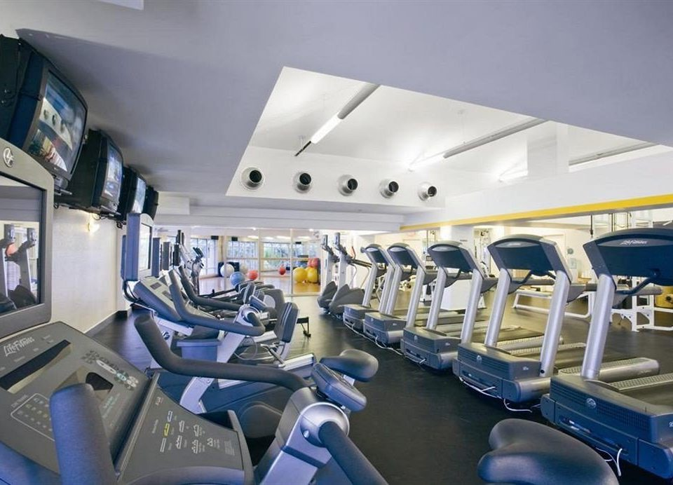 Fitness Sport Wellness airline structure aircraft cabin vehicle sport venue aviation yacht passenger public transport