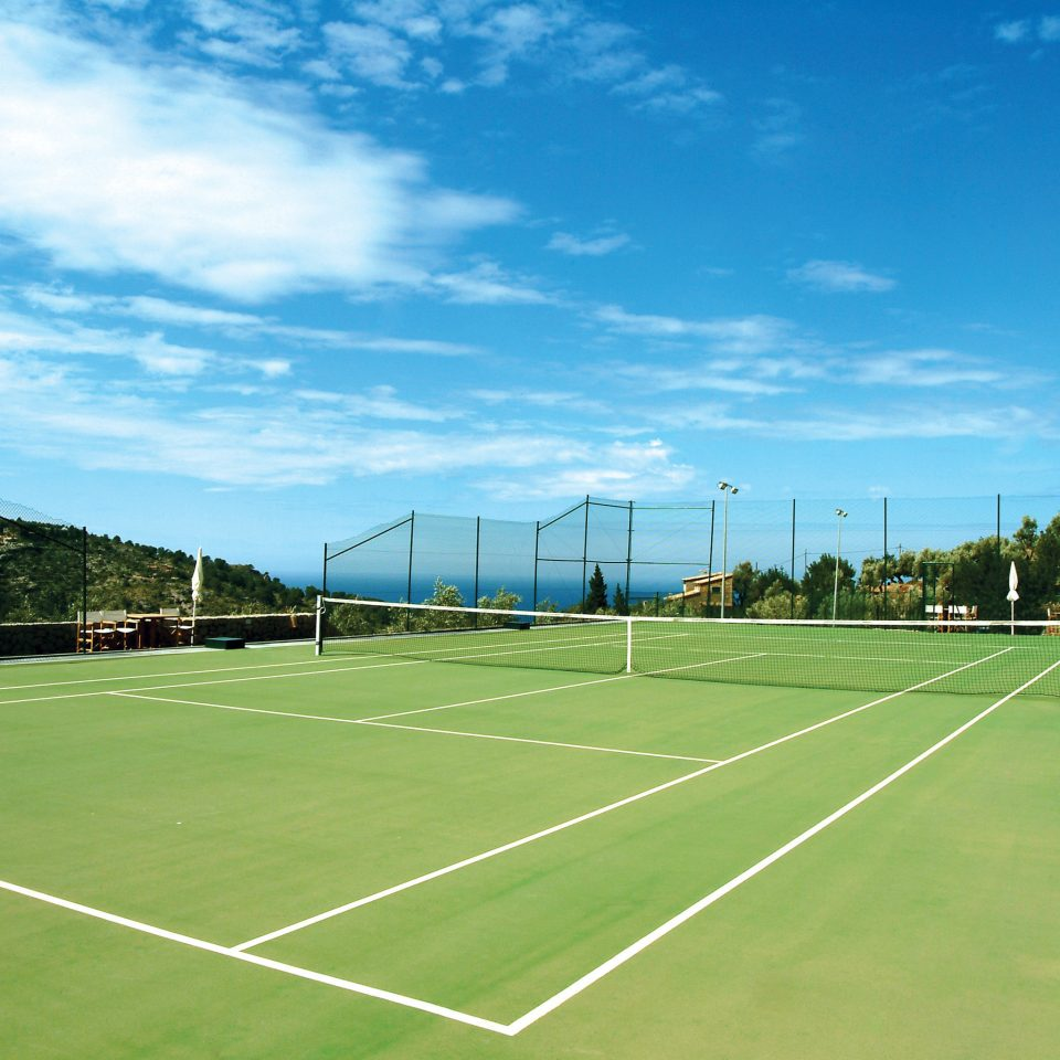 Fitness Sport Wellness sky athletic game grass structure tennis sport venue sports tennis court soccer specific stadium baseball field baseball park stadium lawn