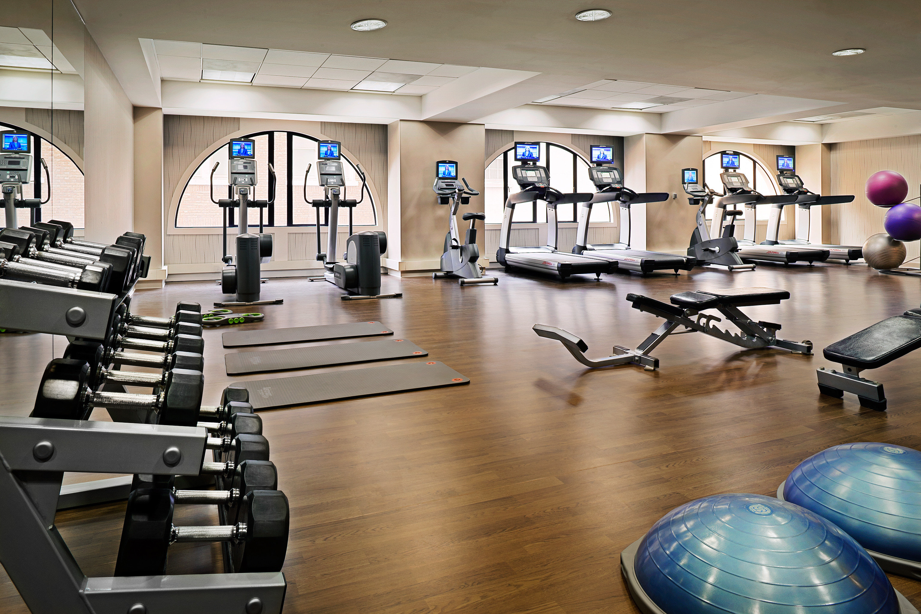Fitness Sport Wellness structure gym sport venue wooden physical fitness