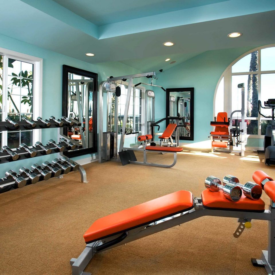 Fitness Sport Wellness structure gym leisure sport venue muscle physical fitness orange