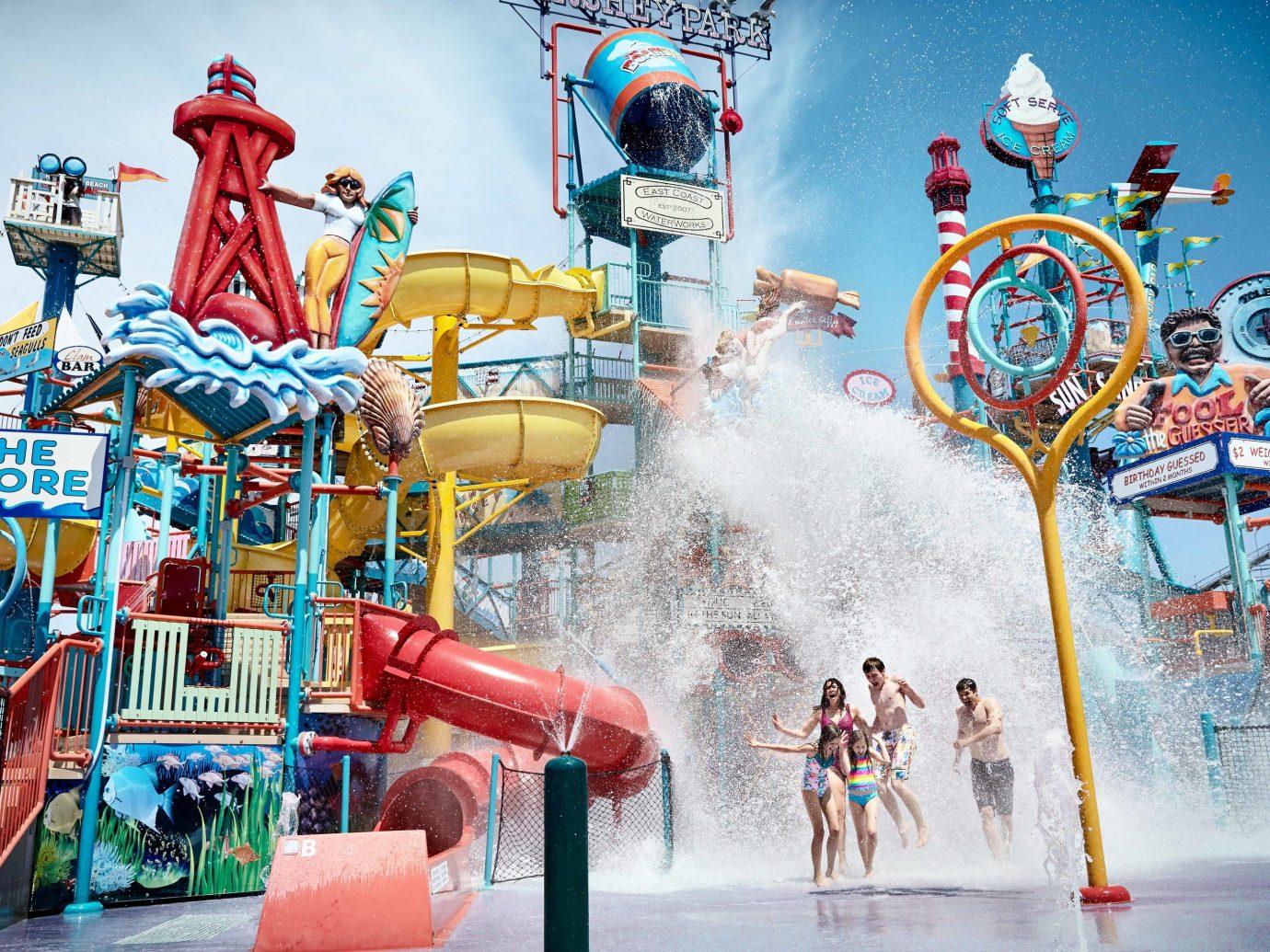 Trip Ideas Weekend Getaways amusement park park amusement ride Water park outdoor recreation transport recreation illustration nonbuilding structure decorated