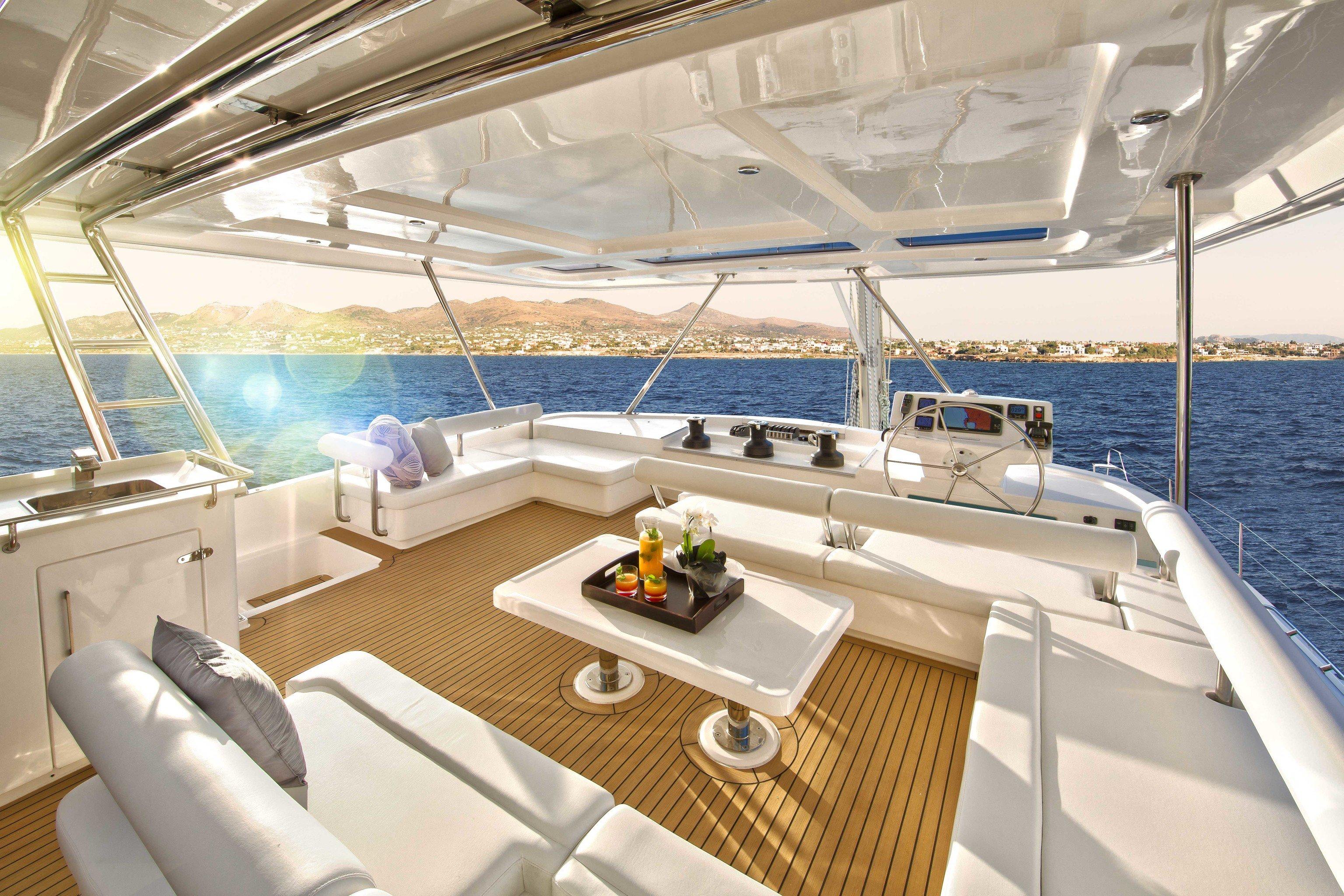 Trip Ideas Boat indoor vehicle watercraft yacht Deck ship luxury yacht