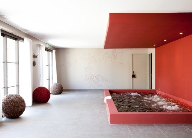 red property living room home flooring