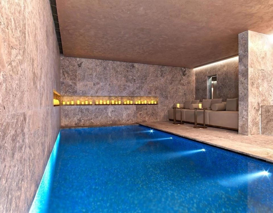 swimming pool man made object property flooring jacuzzi seat