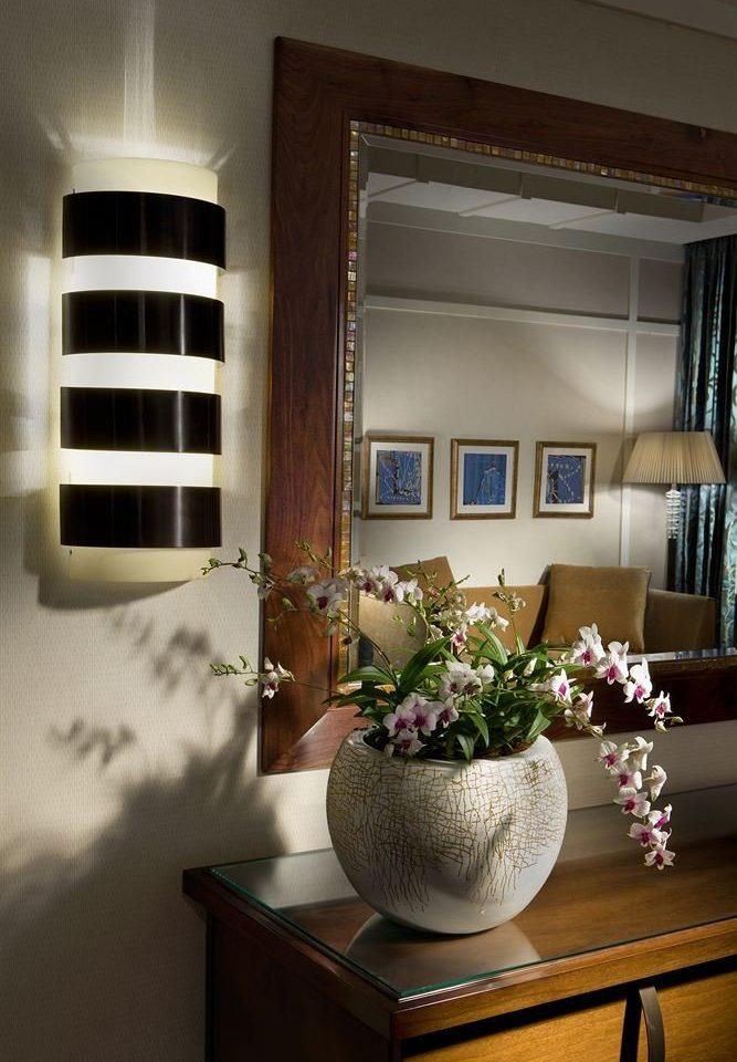 white living room house home flower lighting lamp