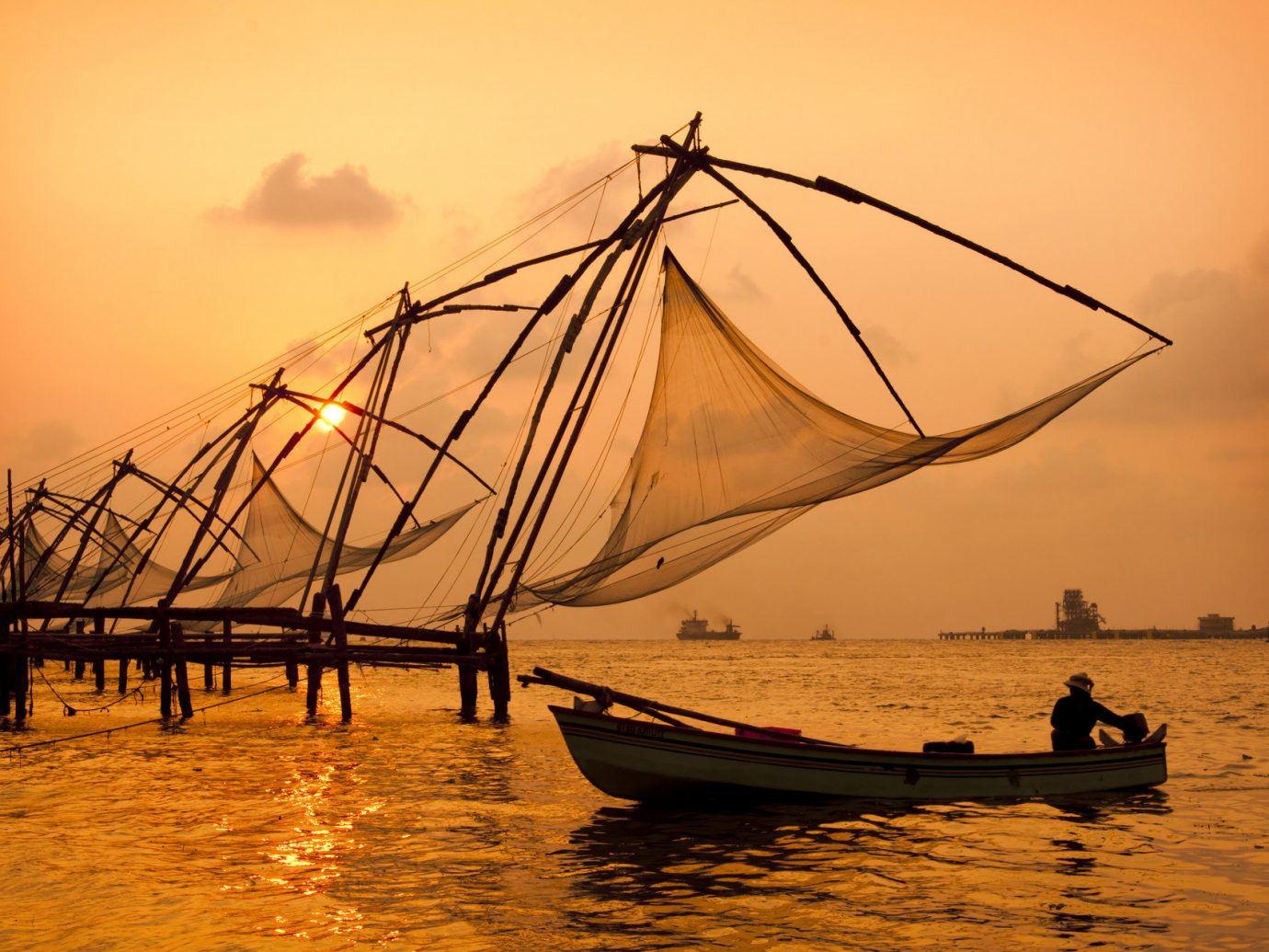 Budget Trip Ideas sky water outdoor Boat Sea Sunset evening morning vehicle dusk Ocean sunrise boating reflection wind barque day