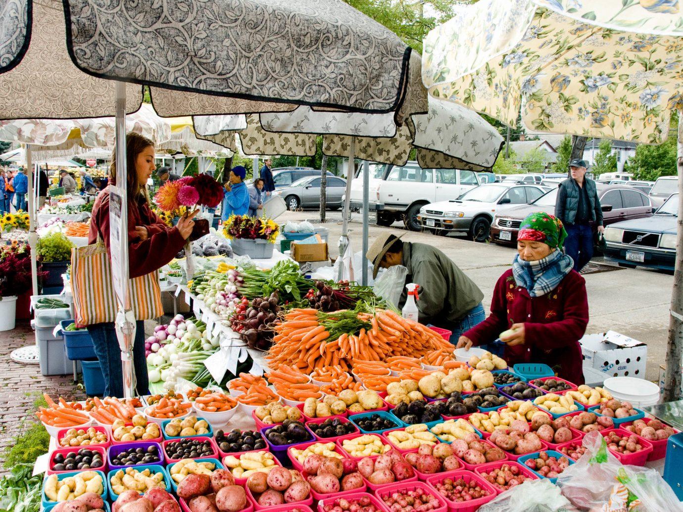 Trip Ideas marketplace market outdoor produce public space vendor stall bazaar scene food local food City fruit greengrocer vegetable brunch colorful fresh