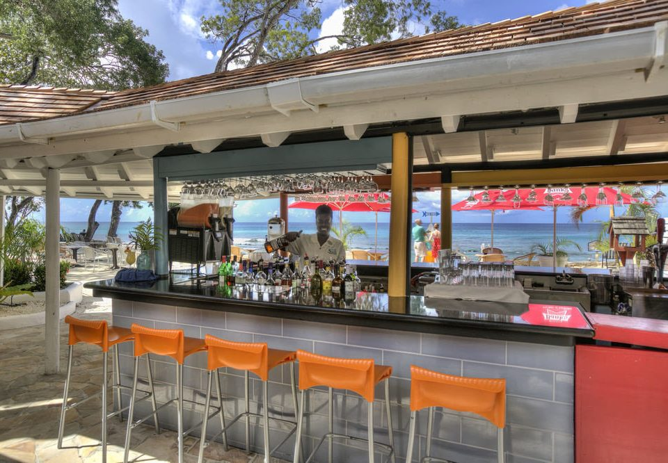 sky restaurant food court orange