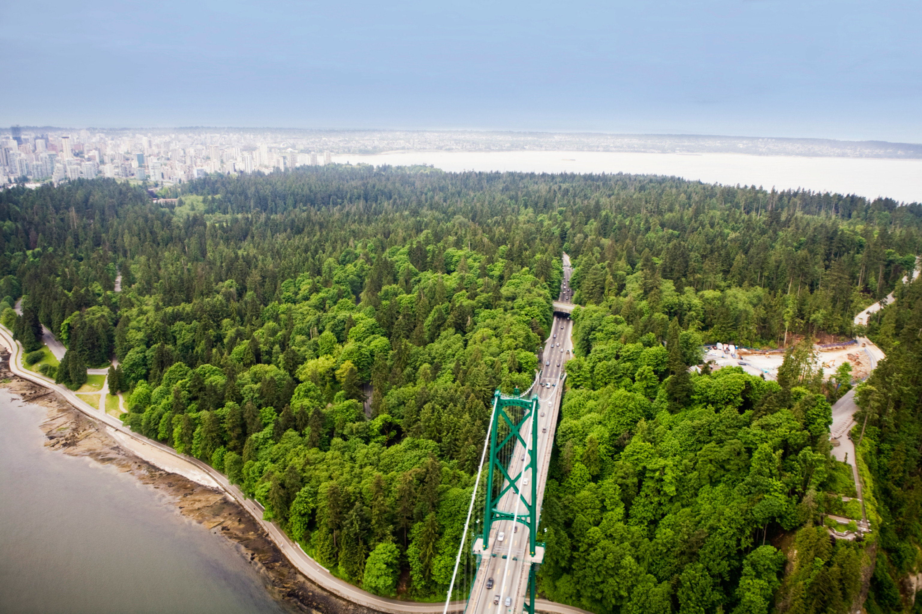 tree sky habitat mountain aerial photography landmark natural environment road hill bird's eye view Forest landscape traveling mountain range highway plant wooded