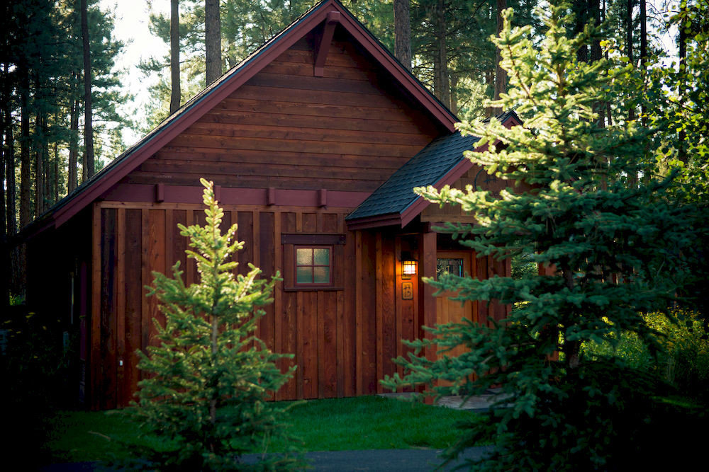 tree building house log cabin home shed cottage backyard landscape lighting siding outdoor structure woodland hut farmhouse yard Forest