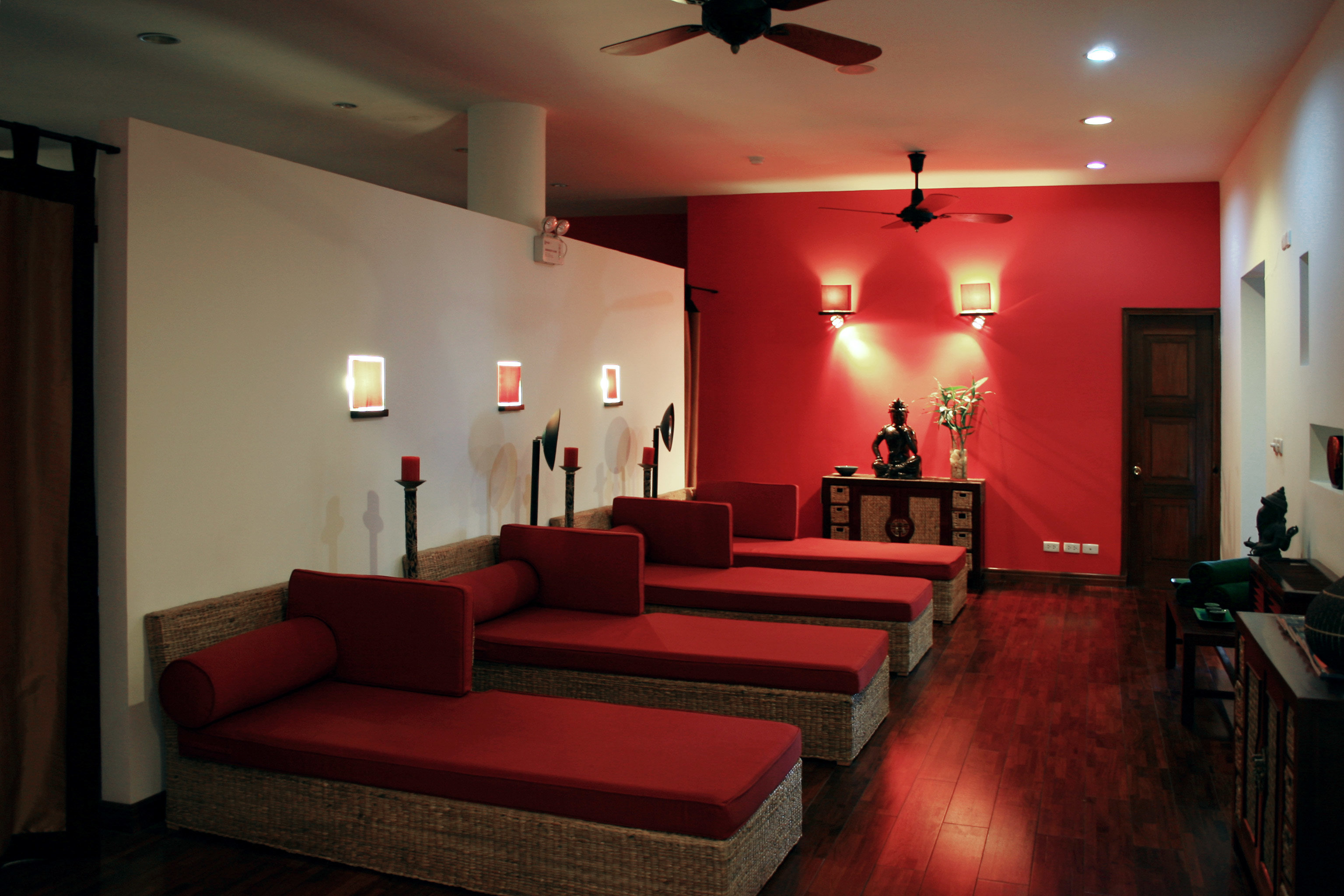 Forest Lounge Mountains Nature Spa Wellness property red