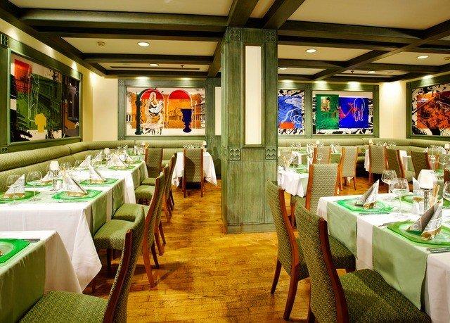 green restaurant function hall