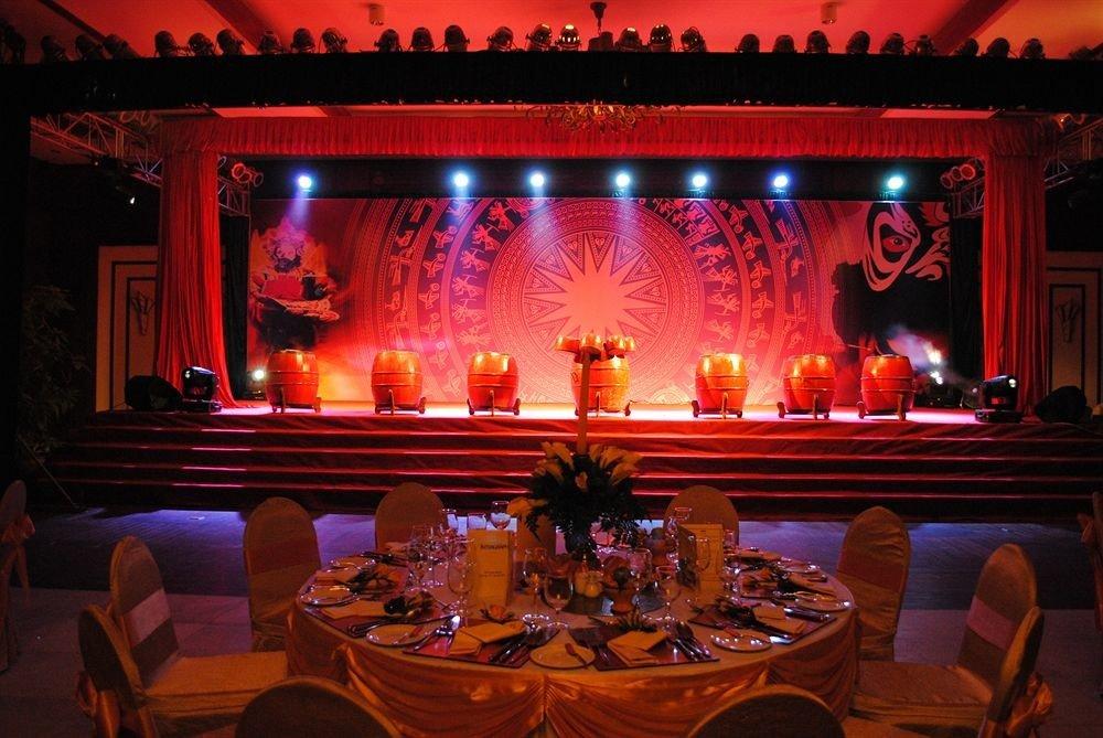 stage function hall musical theatre light nightclub