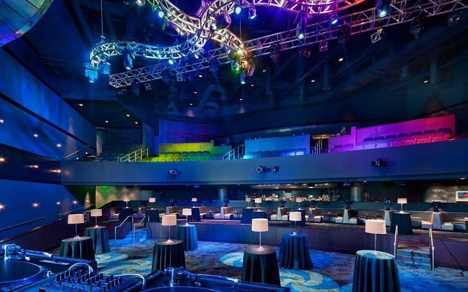scene nightclub stage music venue function hall