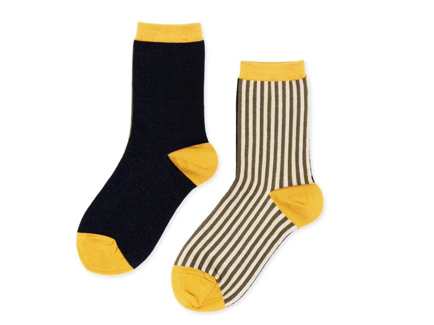 Style + Design sock yellow fashion accessory orange safety glove