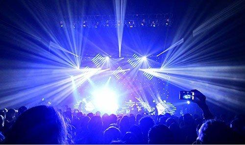 Trip Ideas scene rock concert stage performance light dark concert laser