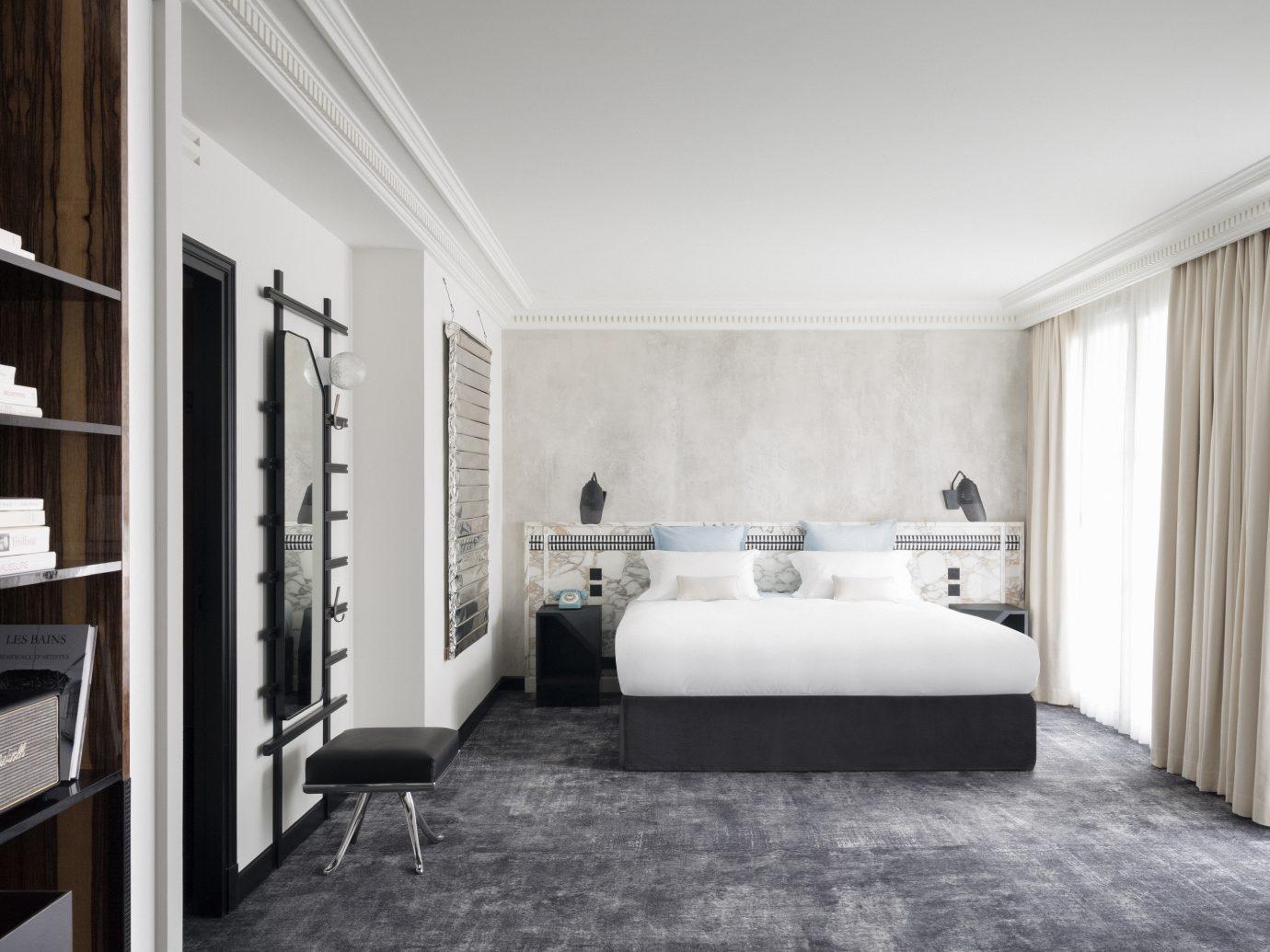 Boutique Hotels Hotels indoor floor wall room property Living living room interior design home real estate estate Bedroom white Suite Design condominium furniture apartment